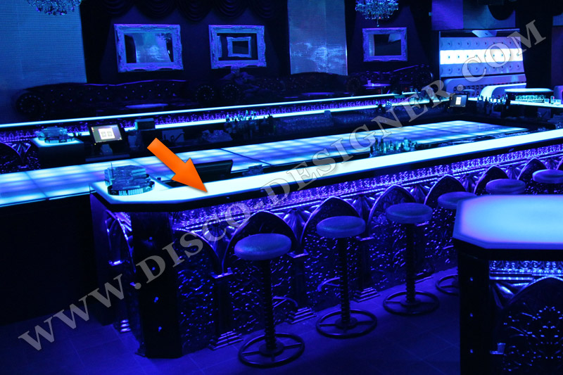 "LED Bar ""Ultra Barock"" - ANWENDUNG"