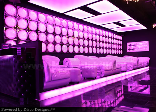 specialize in nightclub disco design 70s retro modern lounge interiors bar and club concepts 3d visualizations led illuminated wall and ceiling decor