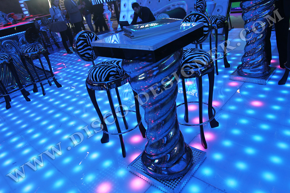 """DISCO TABLE """"SPIRALE"""" - APPLICATIONS"""