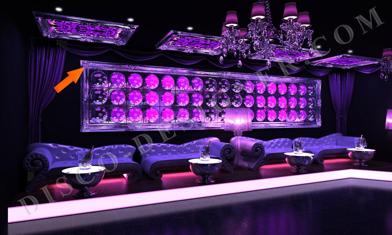 Ultra baroque frame for Lounge designs
